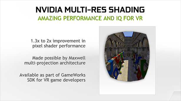 Sombreado multirresolución de NVIDIA