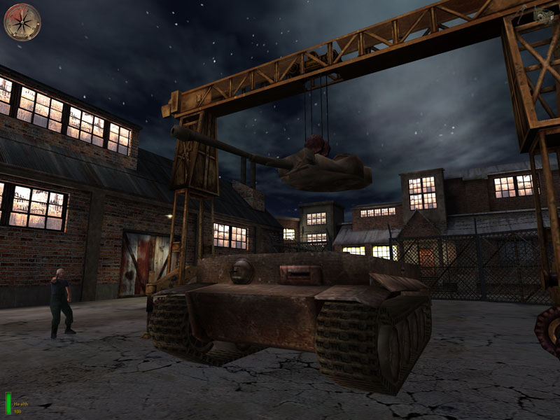 Drive A Tank >> Juego: Medal of Honor: AA|NVIDIA